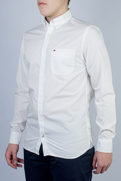 Camisa Tommy Hilfiger 80's Two Ply Cotton (395189)