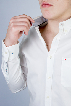 Camisa Tommy Hilfiger 80's Two Ply Cotton (395189) na internet