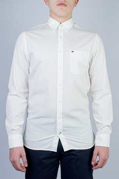 Camisa Tommy Hilfiger 80's Two Ply Cotton (395189) - loja online