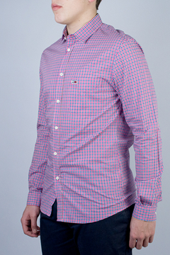 Camisa Tommy Hilfiger Essential Mid Ch (421952)