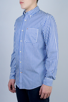 Camisa Tommy Hilfiger Trey Stripes (422989)