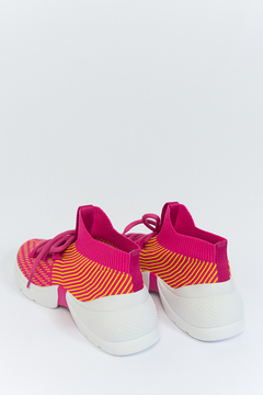 Sock Sneaker Knit Colors Pink Schutz (446929) na internet