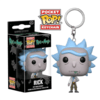 Chaveiro Funko Pocket Pop Rick - Rick and Morty
