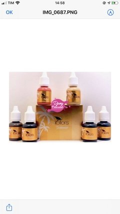 Kit RB Kollors Summer 6 Pigmentos 5ml Cada na internet