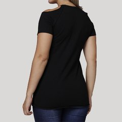 Camiseta Feminina Cold Shoulder Ace - comprar online