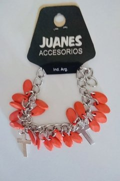 Pulsera cruz en internet