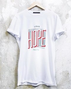 "REMERA HOMBRE TALLE XL ""HOPE"""