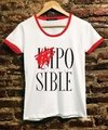 "Remera MUJER Talle M ""POSIBLE"""