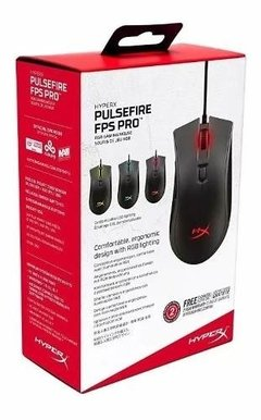 Mouse Gaming Kingston Hyperx Pulsefire Fps Pro en internet