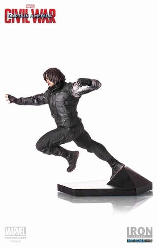 Winter Soldier Capitain America Civil War 1/10 Iron Studios