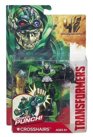 Transformers Power Battlers Crosshairs Hasbro
