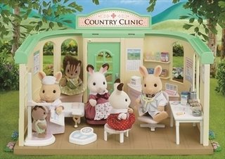 Sylvanian Families Clinica Do Campo - 3622