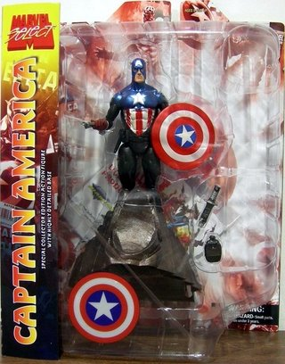 Captain America - Marvel Select - Diamond Toys