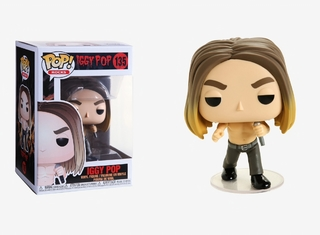 Boneco Funko Pop Rocks Iggy Pop 135