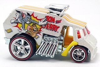 Hot Wheels Tom And Jerry Cool-one Bdr61 Mattel