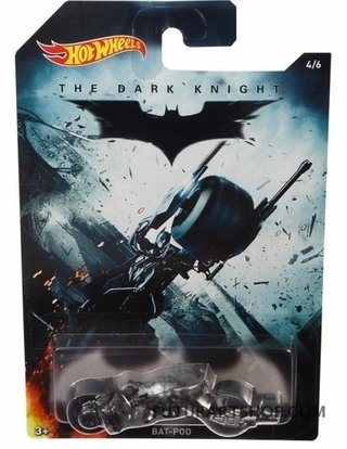 Hot Wheels Batman - Bat-pod - Dfk69 - Mattel