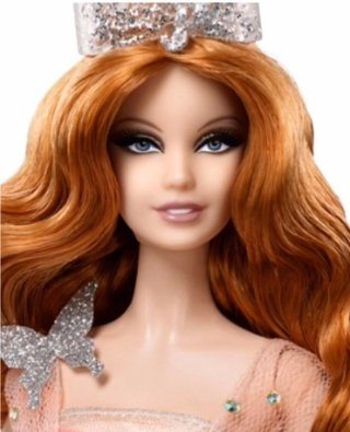 Barbie Collector Wizard Of Oz Fantasy Glamour Glinda 2015