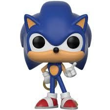 Boneco Funko Pop Games Sonic With Ring 283
