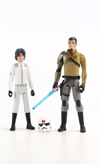 Star Wars Rebels Ezra Bridger E Kanan Jarrus B1384 Hasbro