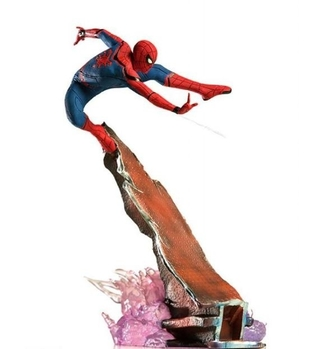 Spiderman Bds Art Scale 1/10 Homecoming - Iron Studios (não lacrada)
