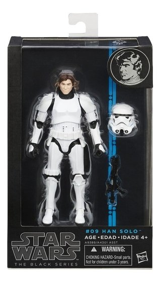 Star Wars The Black Series #09 Han Solo Hasbro