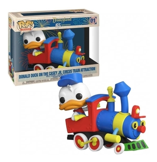 Funko Pop Disney Donald On The Casey Jr Circus Train 01