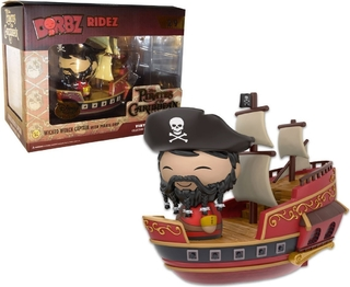 Funko Dorbz Ridez Piratas Caribe Wicked Captain Pirate Ship