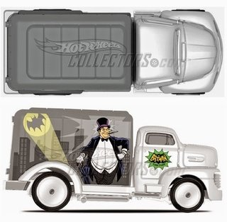 Hot Wheels Cultura Pop Batman 49 Ford Coe
