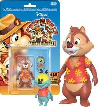 Teco E Zipper Tico E Teco Rescue Rangers Action Figure Funko