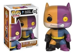 Funko Pop Heroes Impopster - Batman / Two-face #123