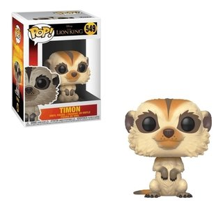 Funko Pop Movies Disney O Rei Leão Timão 549