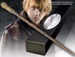 Varinha Ron Weasley Noble Collection Original Nn8413
