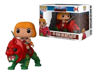 Boneco Pop Funko He-man On Battle Cat 84