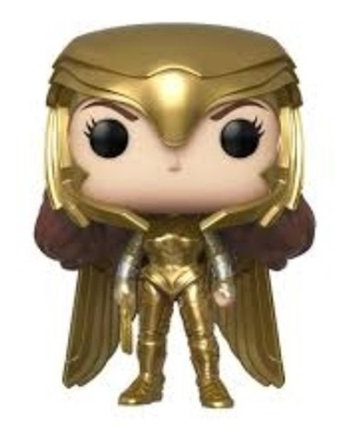 Boneco Funko Pop Heroes Ww84 Wonder Woman Golden Armor 323