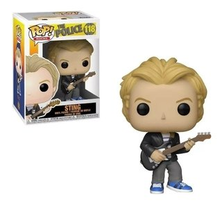 Funko Pop Rocks - The Police - Sting #118