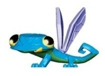 Animal Jam Casinha Mascote Gecko National Geographic