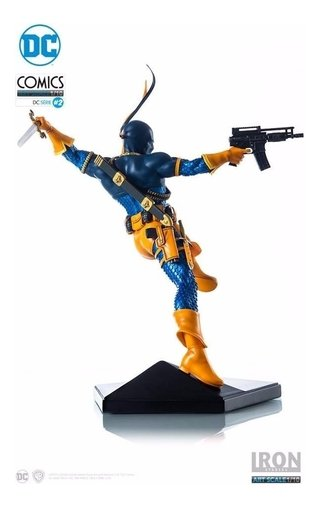 Deathstroke - 1/10 Art Scale Dc Comics Series 2 Iron Studios