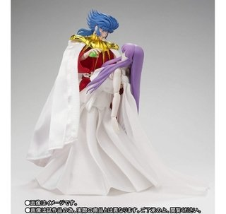 Saint Seiya The Sun God Abel And Goddess Athena Memorial Set