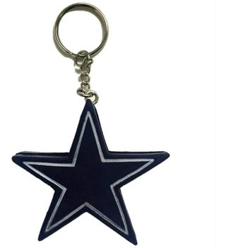 Nfl Chaveiro  Dallas Cowboys Foam Head