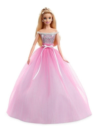 Boneca Barbie Collector Birthday Wishes Loira Dvp49 Mattel