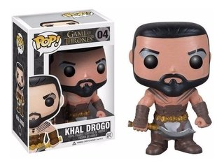 Khal Drogo - Game Of Thrones - Funko Pop! Nº 04