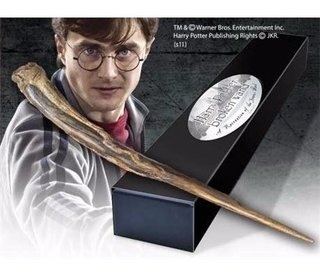 Varinha Harry Potter (sequestrador) Noble Collection