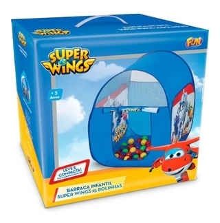 Barraca Infantil Super Wings Com 25 Bolinhas Fun 84354