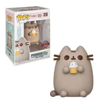 Boneco Funko Pop Pusheen With Cupcake 28