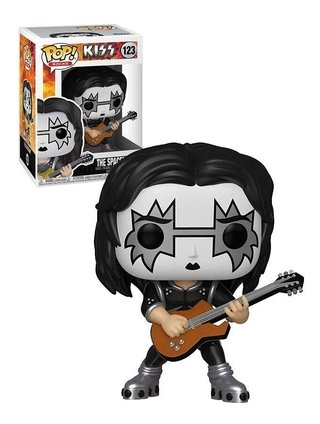 Funko Pop Rocks Kiss The Spaceman #123