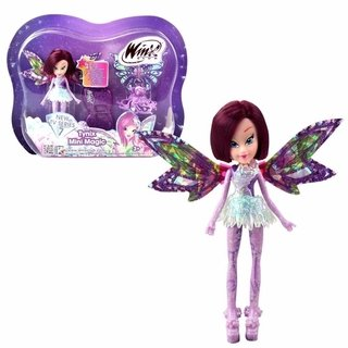Boneca Winx Club - Tynix Mini Magic - Tecna 12 Cm - Wxmm001