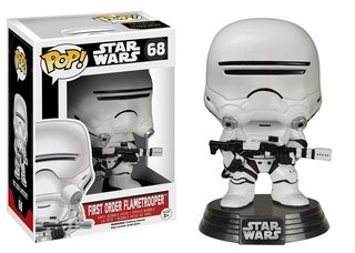 Star Wars Vii First Order Flametrooper - Pop Vinyl - Funko