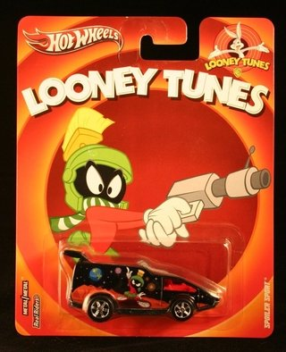 Hot Wheels Looney Tunes Marvin Marciano Spoiler Sport 1:64