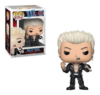 Pop Billy Idol #99 Funko Pop Rock - Com Inmetro