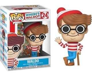 Boneco Funko Pop Books Where's Waldo? Waldo 24